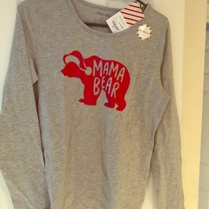 Mama Bear PJ top